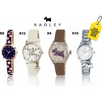 From £24.99 (from Brand Arena) for a ladies Radley watch - choose from 19 designs and save up to 72% - Radley Gifts