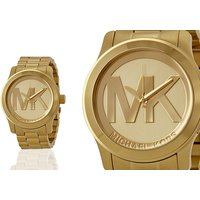 £109 (from Cheap Designer Watches) for ladies Michael Kors MK5473 Runway gold watch - Cheap Gifts