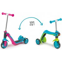£29 (from Smoby Toys Ltd) for a 2 in 1 switch scooter – choose from two colours - Smoby Gifts