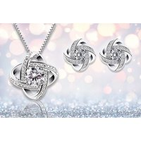 £12 instead of £99.99 (from Your Ideal Gift) for a crystal pendant and earring set - save 88% - Crystal Gifts