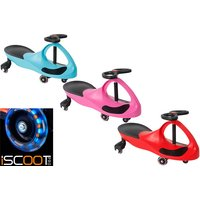 £29 instead of £65 (from Vivo Mounts) for an iScoot ride-on wiggle car with LED wheels - choose from three colours and save 55% - Colours Gifts