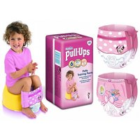 £9.99 instead of £24.99 for 36 Huggies pull-ups for girls - size 6 from Ckent Ltd - save 60% - Girls Gifts