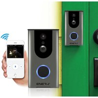 £84.99 instead of £135 (from Ener-J) for a wireless video doorbell with an inbuilt battery, two-way audio and 16GB of cloud storage - Photography Gifts