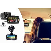 £21.60 instead of £89.90 (from Maxwe) for an HD front and rear dashcam, or £34 for a dash cam with an SD card - save up to 76% - Wowcher Gifts