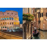 From £149pp (from Book It Now Holidays) for a four-night Rome and Venice trip with two nights in each destination, trains and return flights - save up to 21% - Trains Gifts