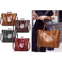 £19.99 instead of £39.99 (from Blu Fish) for a leather shoulder bag - save 50% - Shoulder Bag Gifts