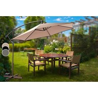 a deluxe banana parasol  choose from three colours and save 64%