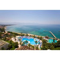 a sevennight 5* allinclusive Turkey break with return flights, from £849 for a family of three, or from £1199pp for a family of four  save up to 55%