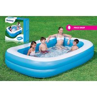 £29.04 instead of £48 (from Zoozio) for a 79-inch Bestway two-ring inflatable family pool or £32 for a 103-inch pool - save up to 40% - Pool Gifts