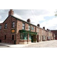 £49 for tickets for two people to Coronation Street The Tour set experience, £74 for three people, or £99 for four people - walk down the famous cobbles on a fully guided tour and save up to 30% - Soap Opera Gifts