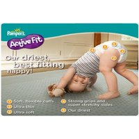 £9.99 for 116 active fit Pampers size 3 from Ckent Ltd - Active Gifts