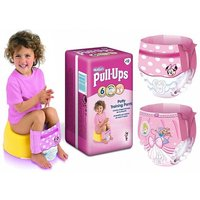 £9.99 for 36 Huggies pull-ups for girls - size 6 from Ckent Ltd