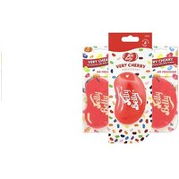 From £2.99 for one, two (£4.99), three (£6.99) or four (£8.99) 3D Jelly Belly scents car air freshener in Very Cherry flavour from Ckent Ltd - Jelly Belly Gifts