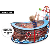£19 instead of £46 (from Charles Oscar) for a pirate ship basketball tent - save 59% - Basketball Gifts