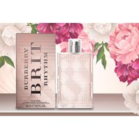 a 50ml bottle of Burberry Brit Rhythm for her EDT from Deals Direct  save 69%