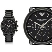 £119 instead of £402.01 (from Hip Watches) for a men's Emporio Armani AR1507 ceramic watch - save 70% - Armani Gifts