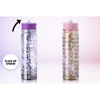 £8 instead of £29.99 (from Gift Gadget) for a glitzy water bottle - choose from two colours and save 73% - Gadget Gifts