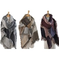 £7.99 instead of £29.99 (from Charles Oscar) for an oversized blanket scarf - choose from five colours and save 73%