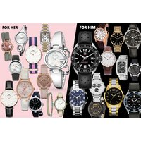 £10 (from Brand Arena) for a mystery watch deal for him or her - Tag Heuer, Gucci, Hugo Boss, Daniel Wellington, Armani, Ted Baker, Calvin Klein, Kahuna & More! - Calvin Klein Gifts