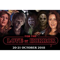 £13.50 instead of £22 for an adult day ticket to For the Love of Horror on 20th or 21st October 2018 at Manchester's BEC, £14.95 for an adult and child day ticket or £27.95 for a family day ticket - save up to a spooktacular 39% - 21st Gifts