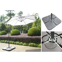 £39 (from Garden & Camping) for a set of cantilever banana parasol base weights - Weights Gifts