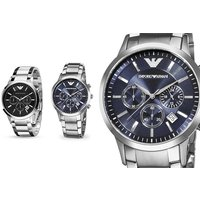£109 instead of £319 (from Hip Watches) for an Armani Men's watch - choose from two designs and save 66% - Armani Gifts