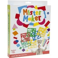 £2.99 instead of £14.99 for a Mister Maker stencil-art set from Ckent Ltd - save 80% - Cbeebies Gifts