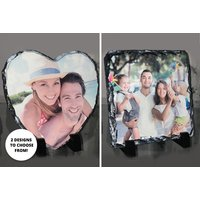 £9 instead of £22.48 (from DecoMatters) for a personalised photo slate, or £16.99 for two slates - save up to 60%