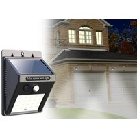 one motionactivated solar security LED light, £13.99 for two or £19.99 for four lights  save up to 78%