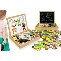 £6.99 instead of £39.99 for a multi functional magnetic animal puzzle drawing board from Ckent Ltd - save 83% - Drawing Gifts