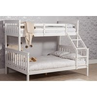 £179 instead of £580 (from Dreams Outdoors) for a triple sleeper white pinewood bunk bed - save 69% - Outdoors Gifts