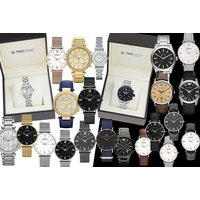 £20 (from Gray Kingdom) for a luxury mystery watch deal for him or her - Tag Heuer, Emporio Armani, Michael Kors, Daniel Wellington and Luke Henry! - Armani Gifts