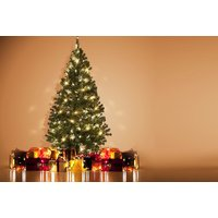 a 6ft artificial Christmas tree, £24.99 for a 7ft tree  save up to 71%