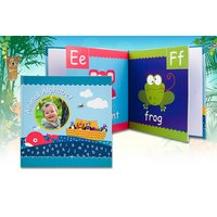 £10 instead of £24.99 (from Smiley Hippo) for a personalised alphabet book - save 60% - Hippo Gifts