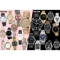 £10 (from Brand Arena) for a mystery watch deal for him or her - Tag Heuer, Gucci, Hugo Boss, Daniel Wellington, Armani, Calvin Klein, Spirit, Kahuna & More! - Calvin Klein Gifts