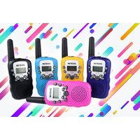 £12.99 instead of £49.99 (from The Electronic Store) for a pair of RT388 walkie talkies - save 74% - Electronic Gifts