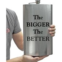 £7.99 instead of £27 (from Direct2Publik) for an XL stainless steel hip flask - save 70%