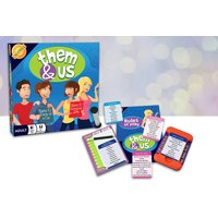 £8.99 instead of £14.99 (from Cheatwell Games) for a Them & Us adult card game - save 40% - Games Gifts