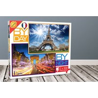£4.99 instead of £19.51 (from Cheatwell) for a London or Paris by day and night jigsaw puzzle - save 74% - Jigsaw Gifts