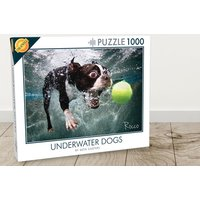 £5.99 instead of £11 (from Cheatwell Games) for a 1000pc underwater dogs puzzle - save 46% - Games Gifts