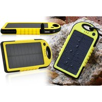 £8.99 instead of £19.99 (from TigerZilla) for a dual USB waterproof solar-PowerBank with flashlight - save 55% - Usb Gifts