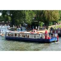 a sightseeing river cruise for one person with a cream tea, or £12 for a sightseeing river cruise for two adults and two children from Bancroft Cruisers  save up to 52%
