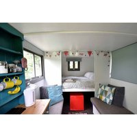 £79 (at Little Oak Glamping) for a two-night Nottinghamshire glamping stay for two people in a Romany-style caravan including BBQ hire, homemade jams and tea and coffee - save 39% - Caravan Gifts