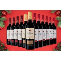 £49 instead of £149.01 (from Q-Regalo) for 12 bottles of Viña Albali Spanish red wine - save 67% - Spanish Gifts