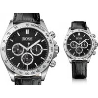 £129 instead of £389 (from Best Watch Company) for a Hugo Boss men's Ikon chronograph watch - save 69% - Hugo Boss Gifts