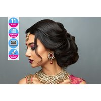 £49 (from e-Courses4You Direct) for an Asian bridal hair course - Asian Gifts