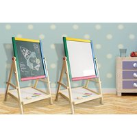 £9.99 instead of £30 for a kids' 2-in-1 easel drawing board from Direct2Public Ltd - save 67% - Drawing Gifts
