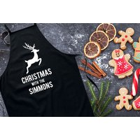 £9.99 instead of £28.99 (from DecoMatters) for a personalised Christmas apron - choose from three designs and save 66%