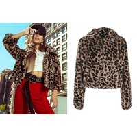 £19.99 instead of £69.99 (from Blu Fish) for a leopard print zip jacket - save 71% - Wowcher Gifts