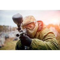 £10 for paintballing with 100 balls and a light lunch for 10 people at Paintball Network - choose from 34 nationwide locations - Paintball Gifts